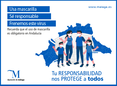 USA MASCARILLA, SÉ RESPONSABLE